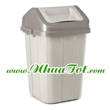 thùng rác bập bênh lớn