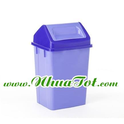 thùng rác bập bênh trung