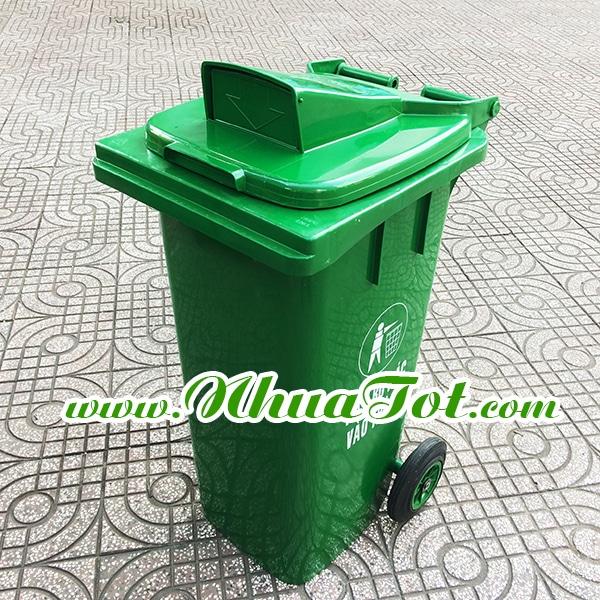 Thùng rác nắp hở 120 lít