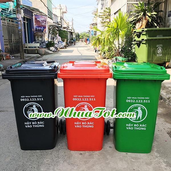 Thùng rác 240 lít