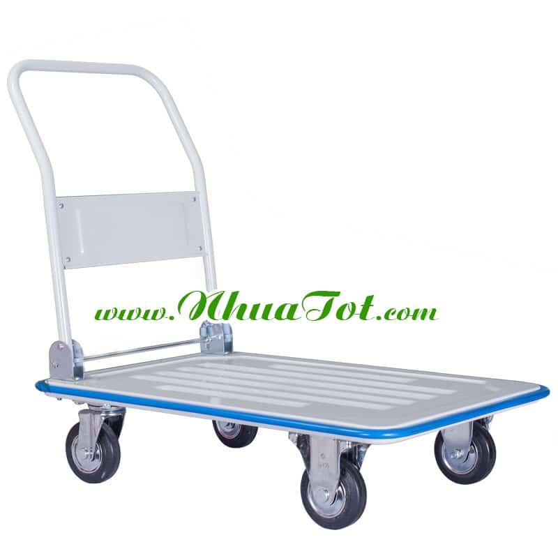 Xe Đẩy Hàng 4 Bánh NTXTL200DS (600Kg)