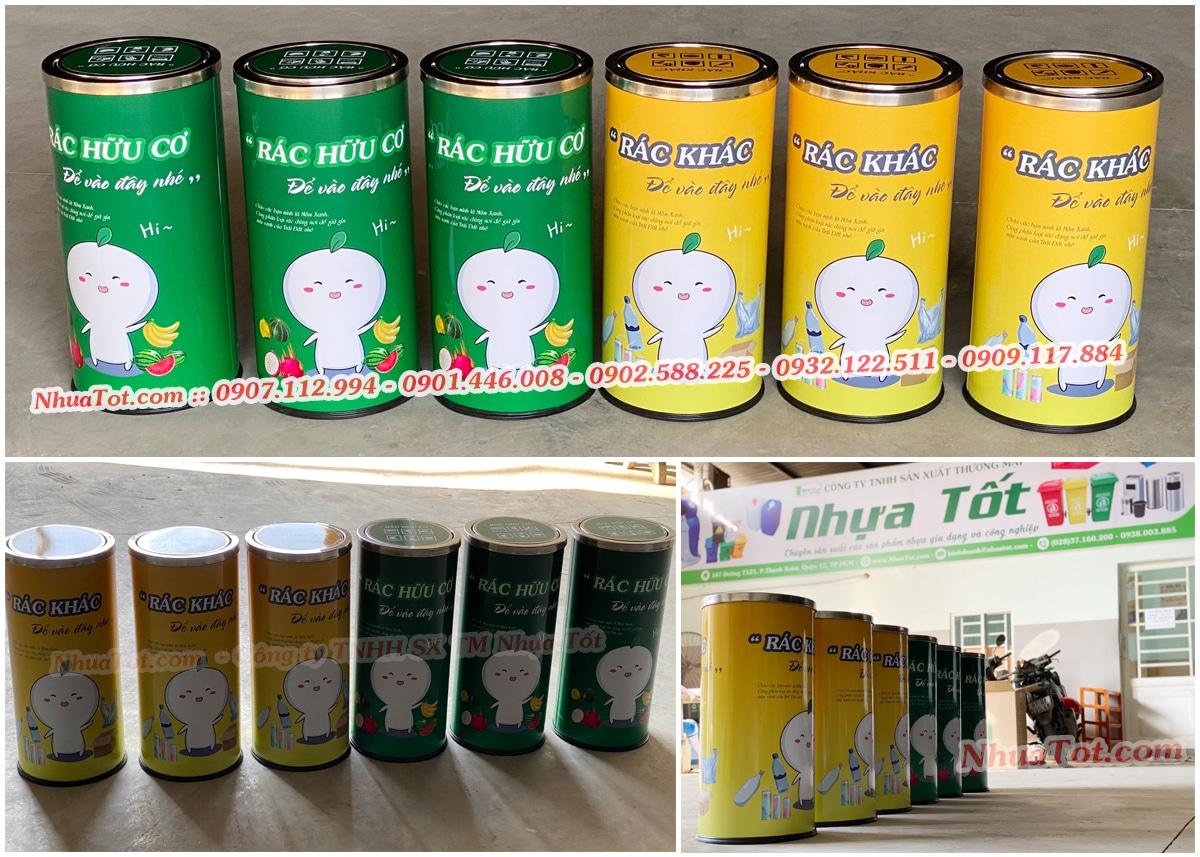Thùng Rác Inox - Công ty TNHH SX TM Nhựa Tốt